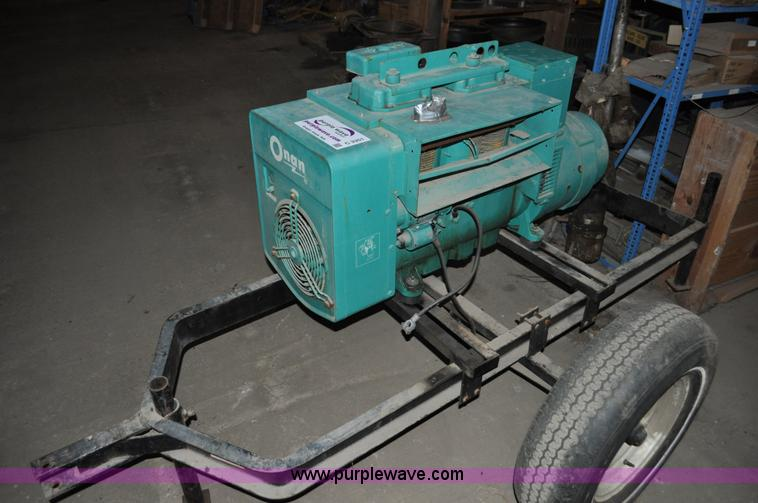 Onan Generator Item C3351 SOLD March 13 Upper Midwest C