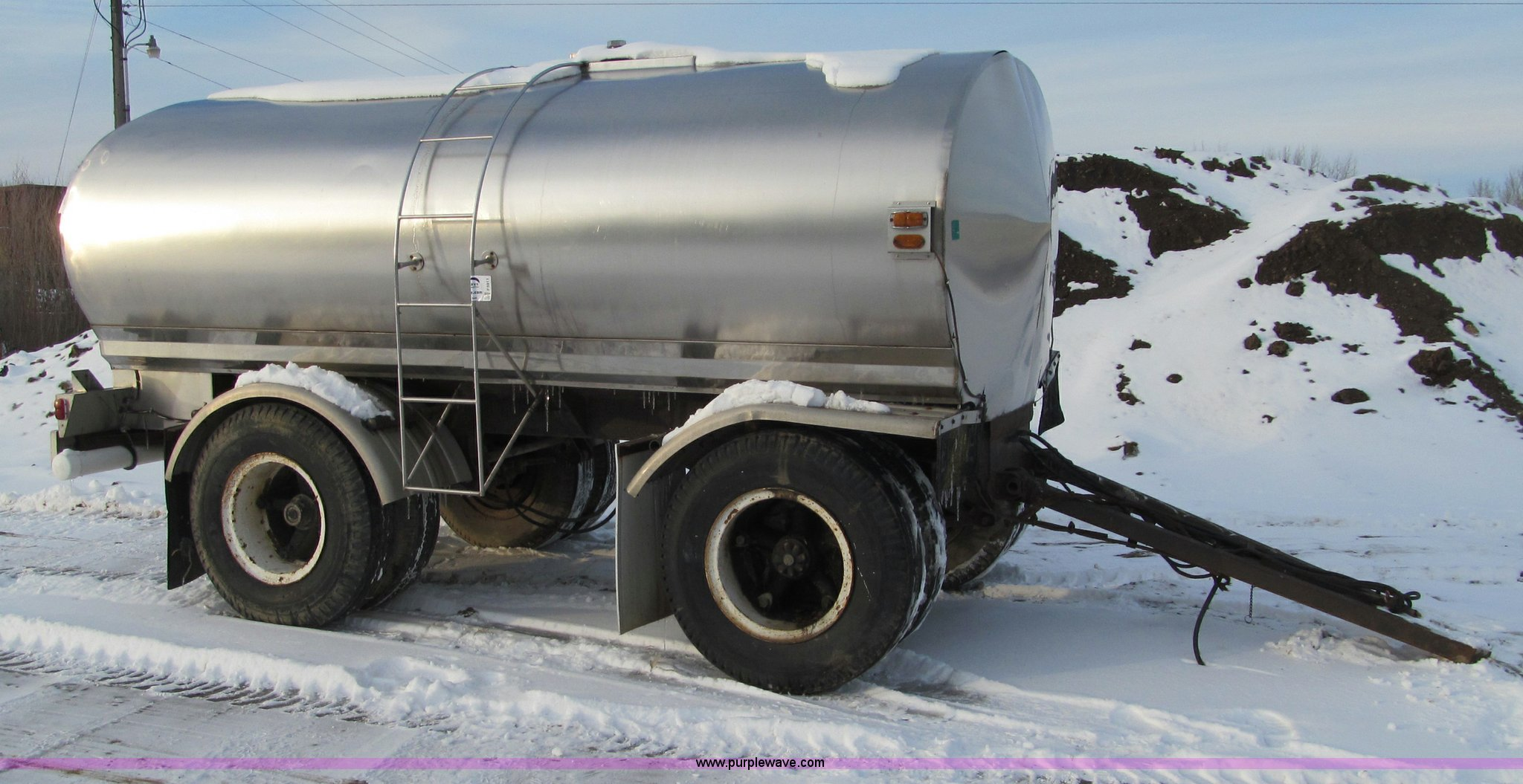Water Tank Trailer >> Portable Water Tank Trailer Item F5911 Sold March 13 Up