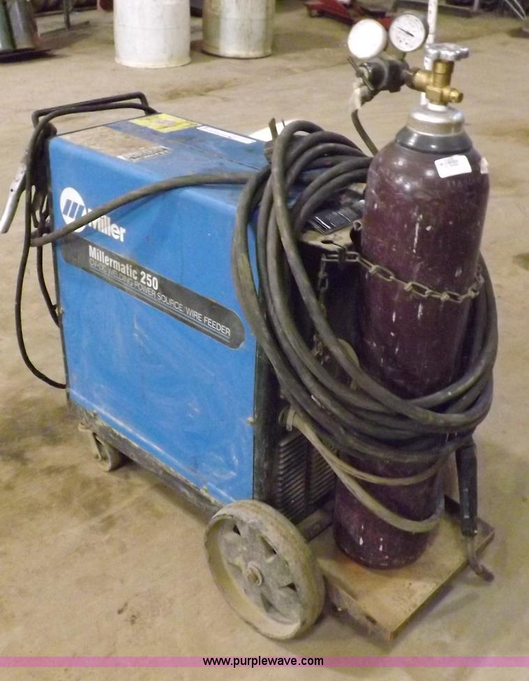 Millermatic 250 wire feed welder | Item J9170 | SOLD! March ...