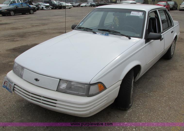 1994 Chevrolet Cavalier Rs Item F8598 Sold March 19 Cit