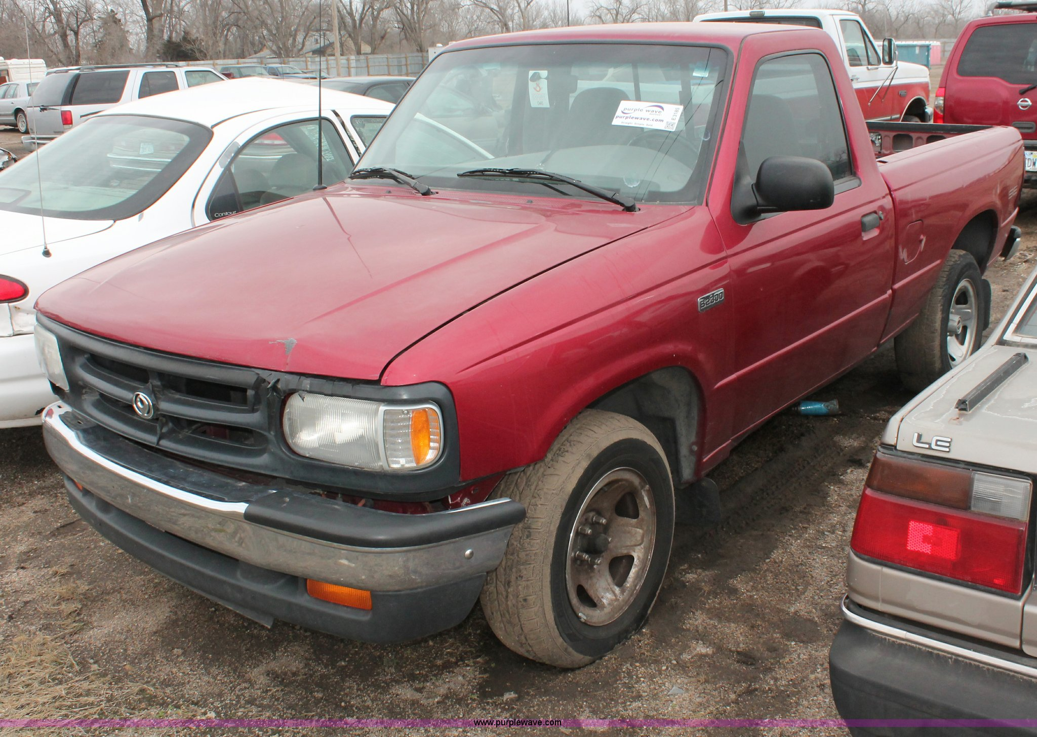 1996 Mazda B2300 SE pickup truck   Item E3185   SOLD! March ...