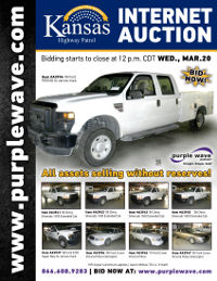 View March 20 Kansas Highway Patrol Fleet Vehicle Auction flyer