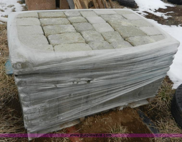 pallet of pavers  2