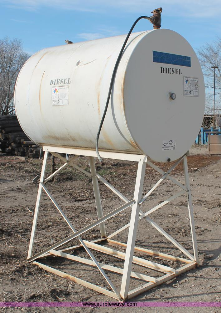 500 gallon fuel tank | Item E2863 | SOLD! Wednesday March 20