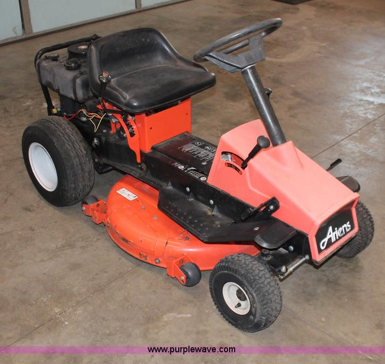 Ariens 20 Hp Lawn Tractor : Ariens lawn mower item v sold wednesday march