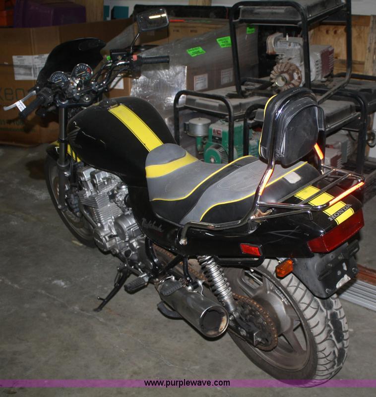 1992 Honda CB750 Nighthawk motorcycle | Item V9530 | SOLD! W