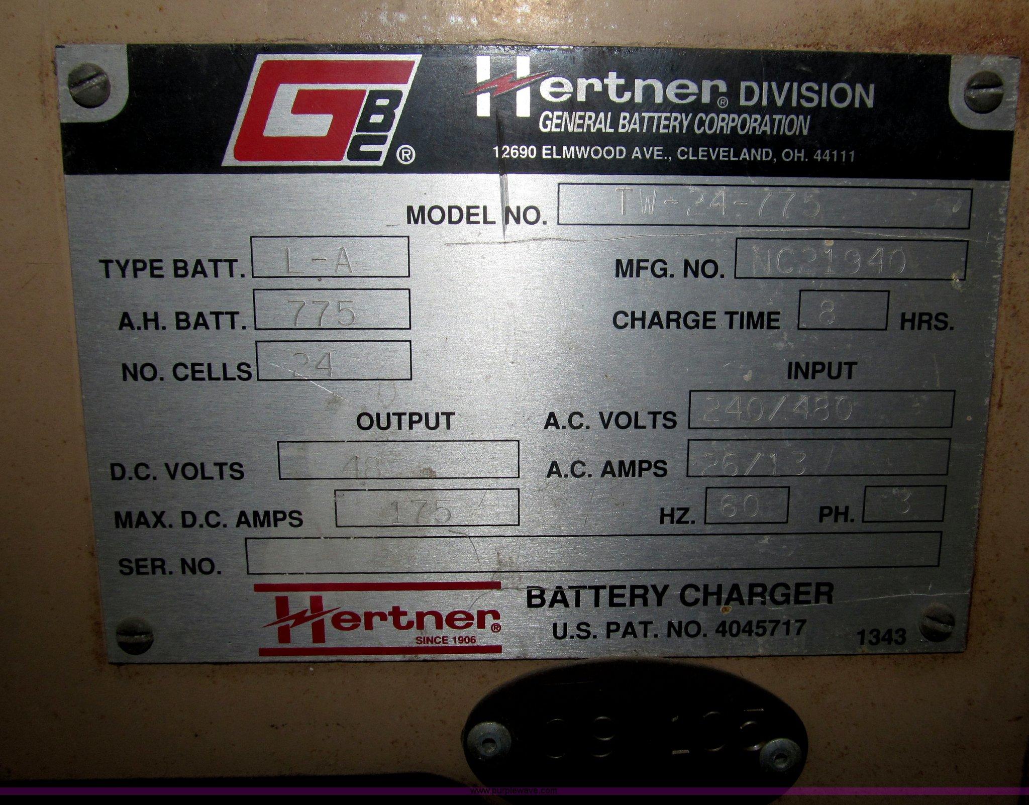 manual hertner 1000 battery charger manual