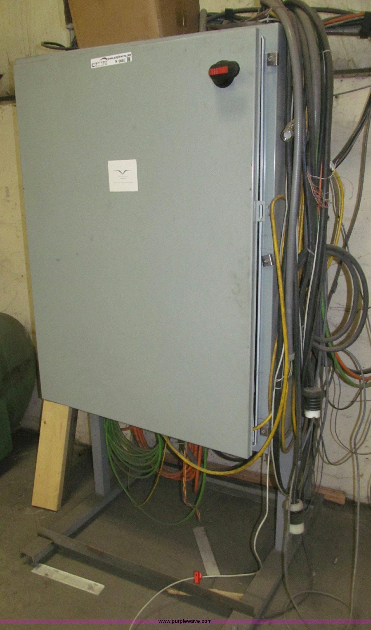 2) freestanding electrical panel box | Item K9666 | SOLD! W...