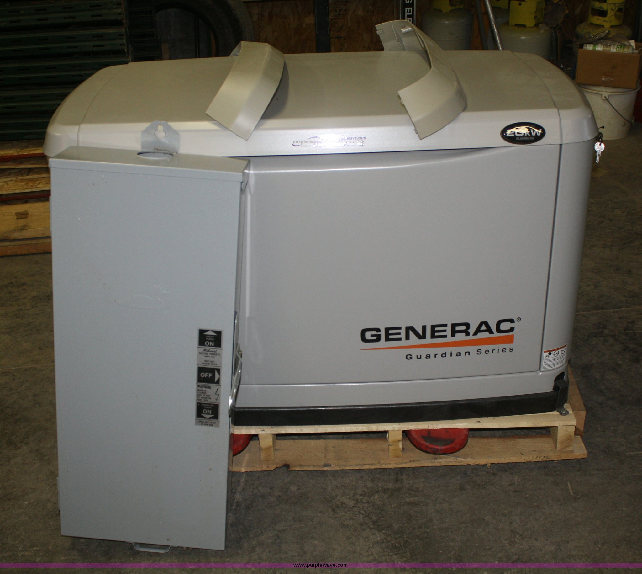Generac Guardian Series 20 Kw Generator Item S9911 Sold