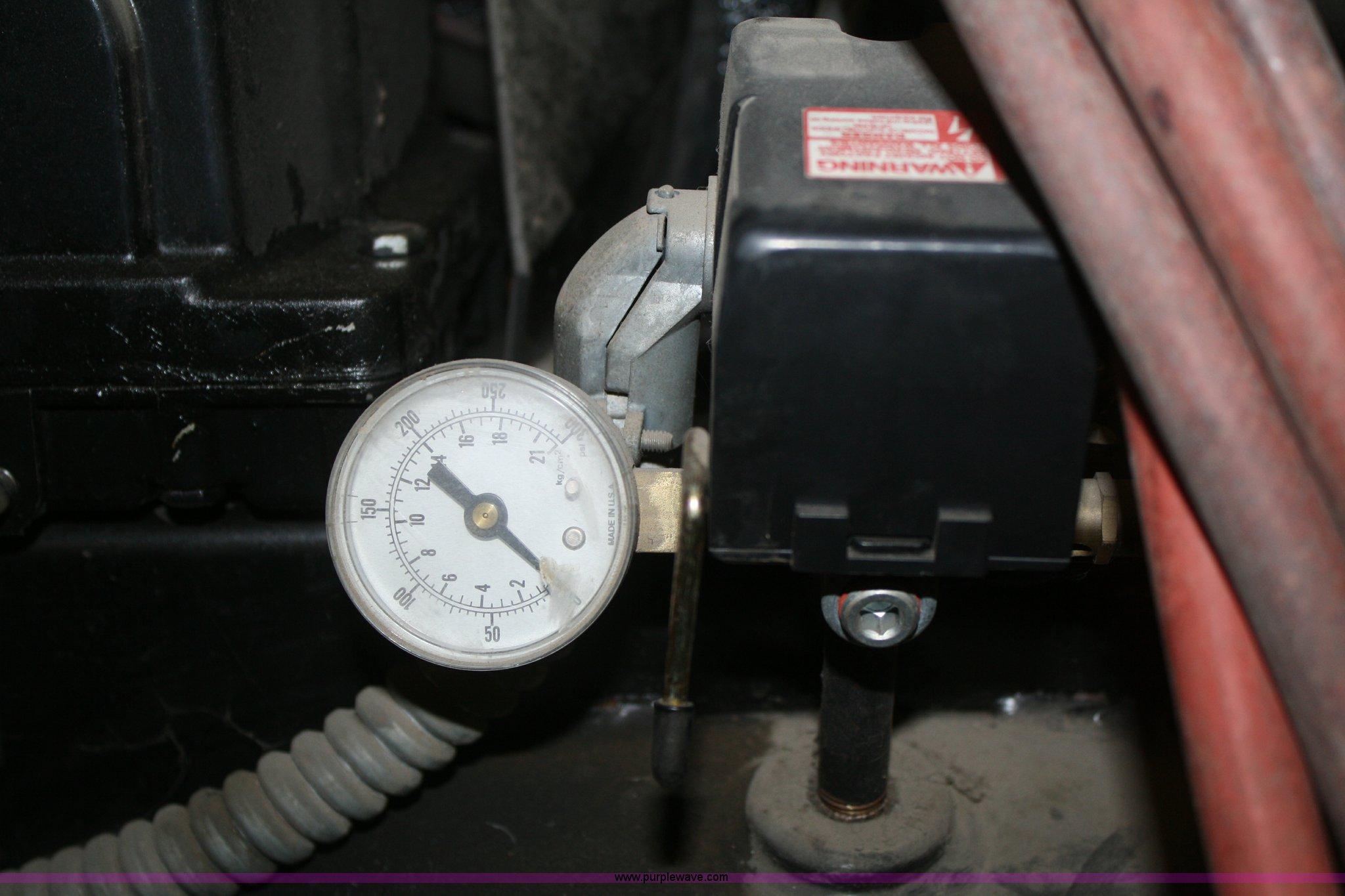 Black Max 60 Gallon Air Compressor Item S9913 3 20 2013