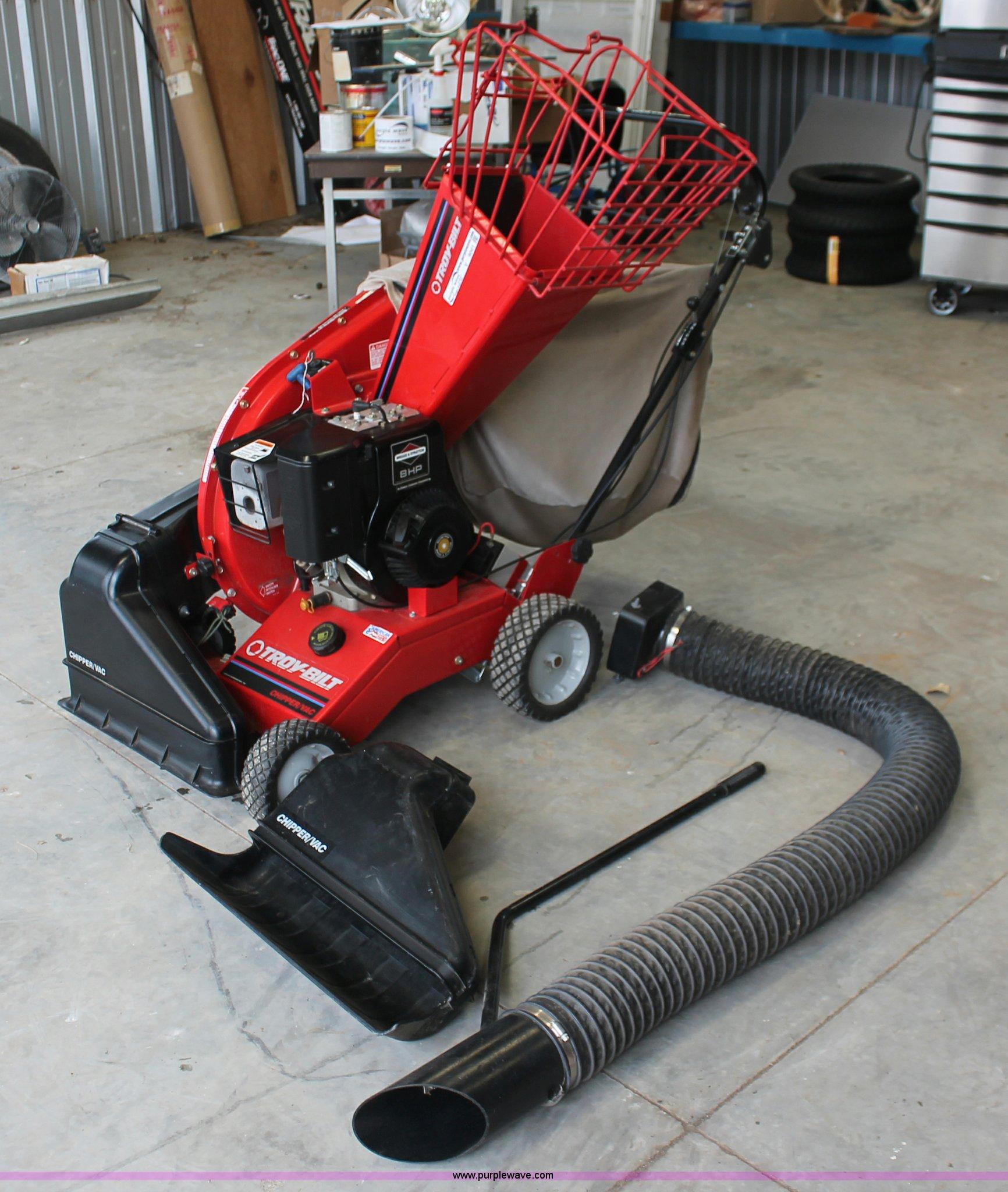 V9041 image for item V9041 Troy-Bilt chipper vacuum