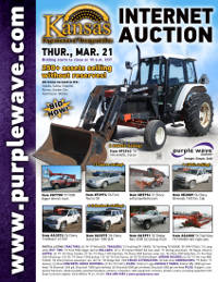 View March 21 Kansas Department of Transportation Auction flyer
