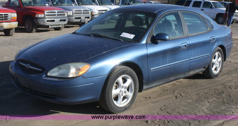 2002 ford taurus se | item a3980 | sold! thursday march 21 k