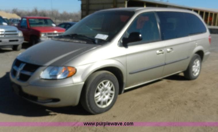 2002 Dodge Grand Caravan Sport van | Item F2967 | SOLD! Thur...