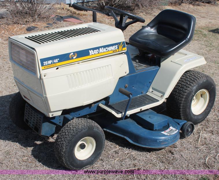 Mtd Yard Machine Lawn Mower : Mtd yard machines lawn mower item w sold