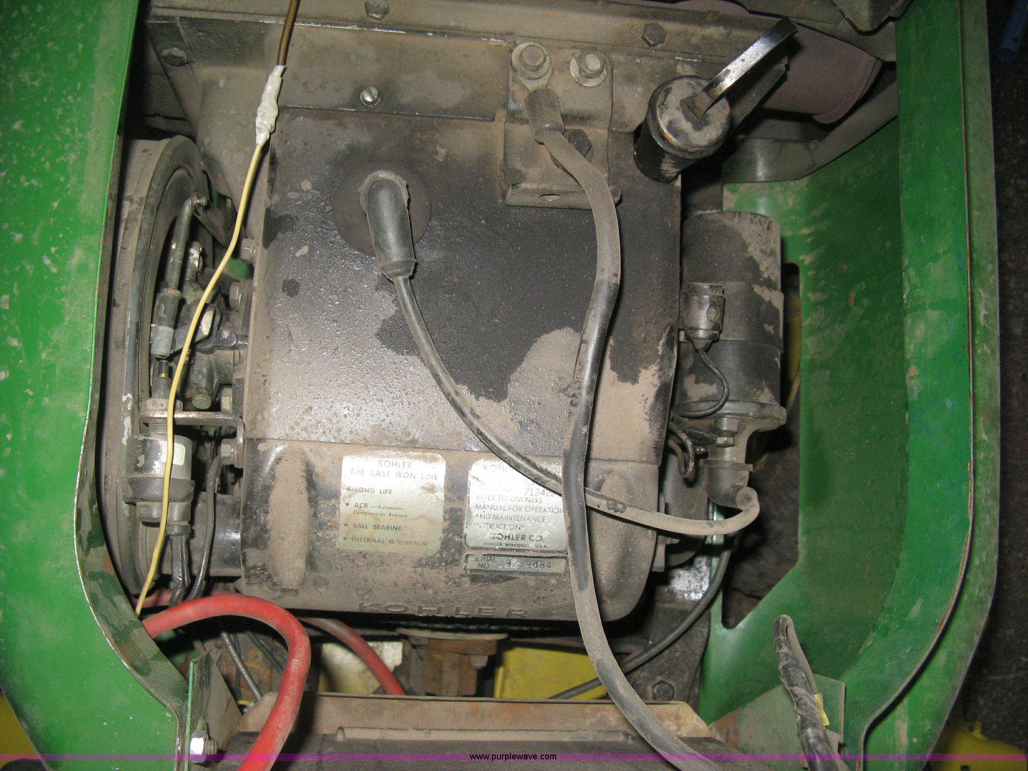 John Deere 316 lawn mower   Item AG9528   SOLD! Wednesday Ap