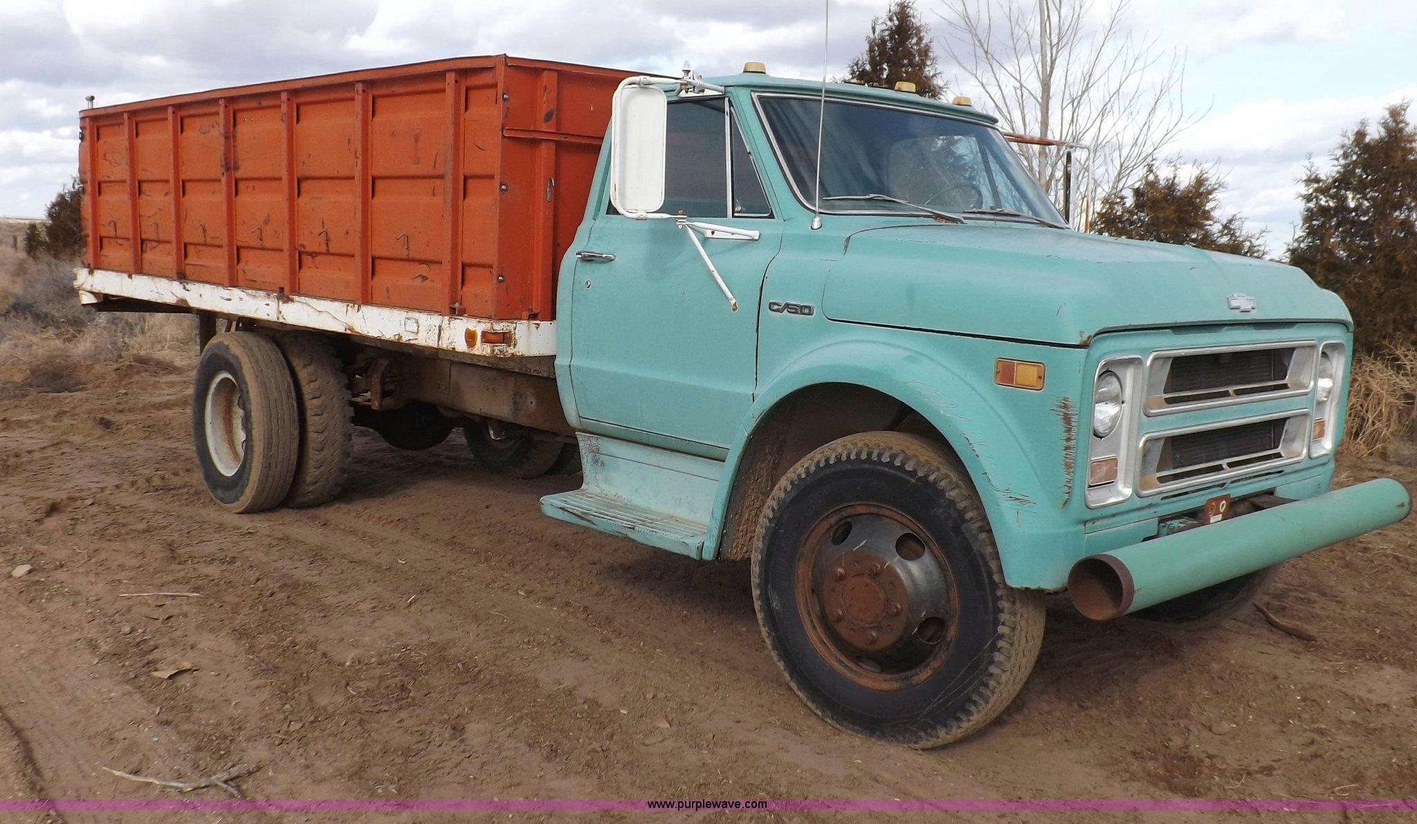 1969 Chevrolet C50 Dump Truck In Liberal Ks Item F6441 Sold Purple Wave
