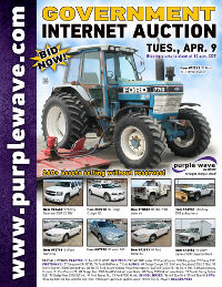 View April 9 Government Auction flyer