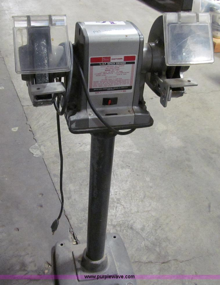 Craftsman Bench Grinder No Reserve Auction On Tuesday