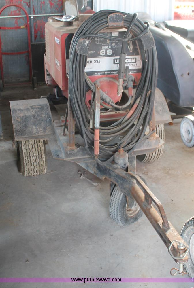 lincoln lincwelder 225 dc arc welder item w9388 sold! tuw9388 image for item w9388 lincoln lincwelder 225 dc arc welder