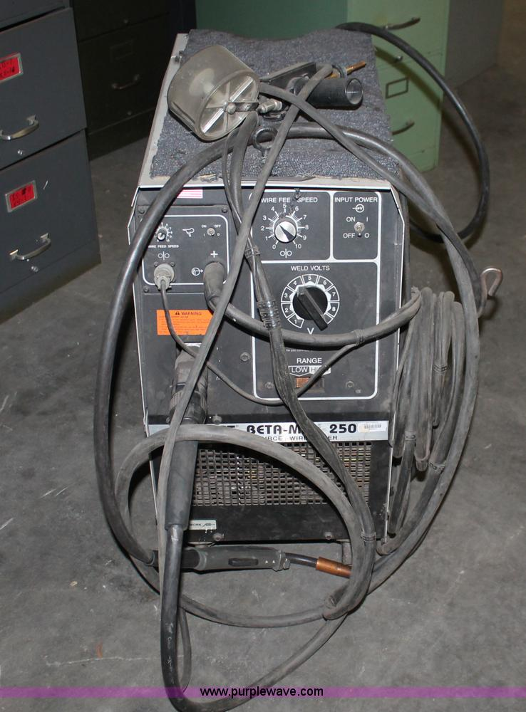 W9434A hobart beta mig 250 cv power source wire feed welder item hobart beta mig 250 wiring diagrams at soozxer.org