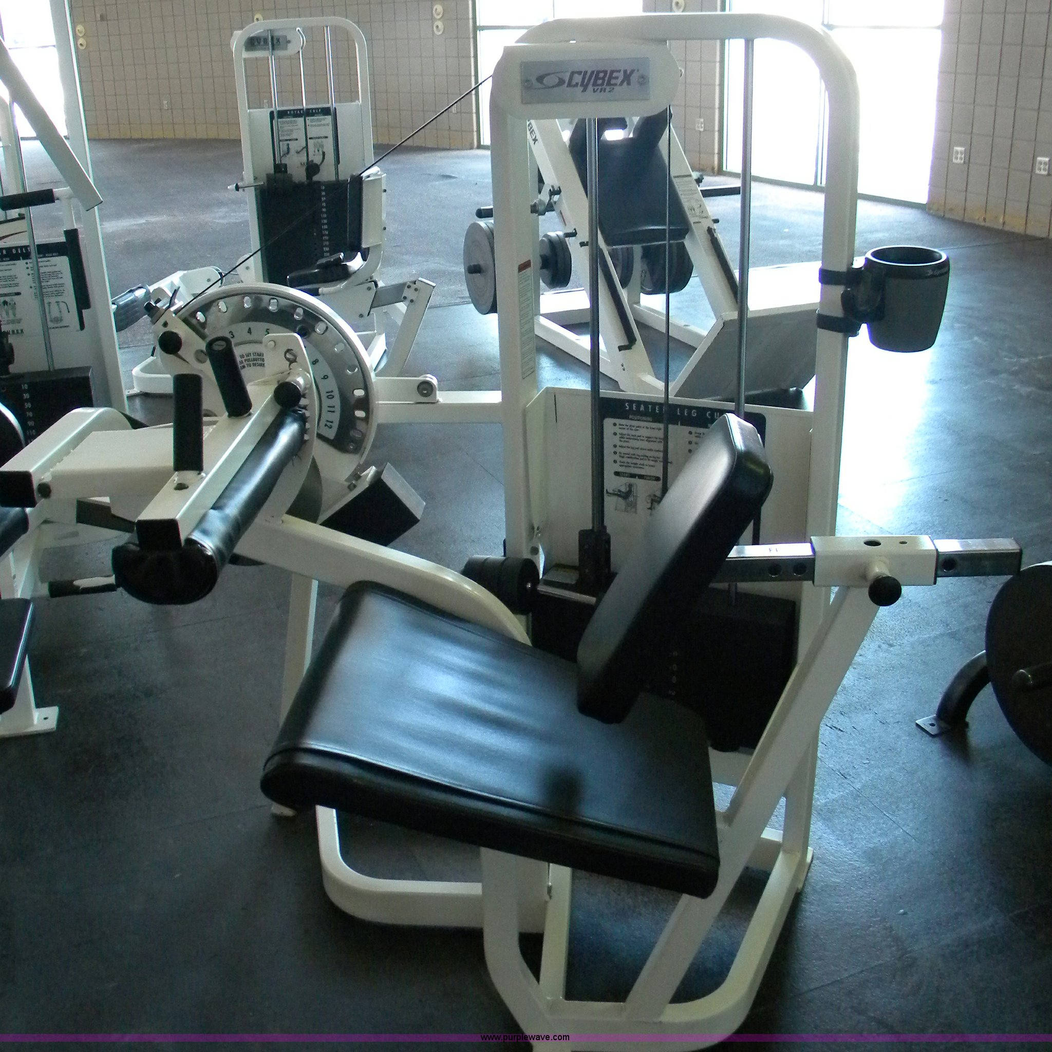 Cybex VR2 seated leg curl | Item B1935 | SOLD! Tuesday April