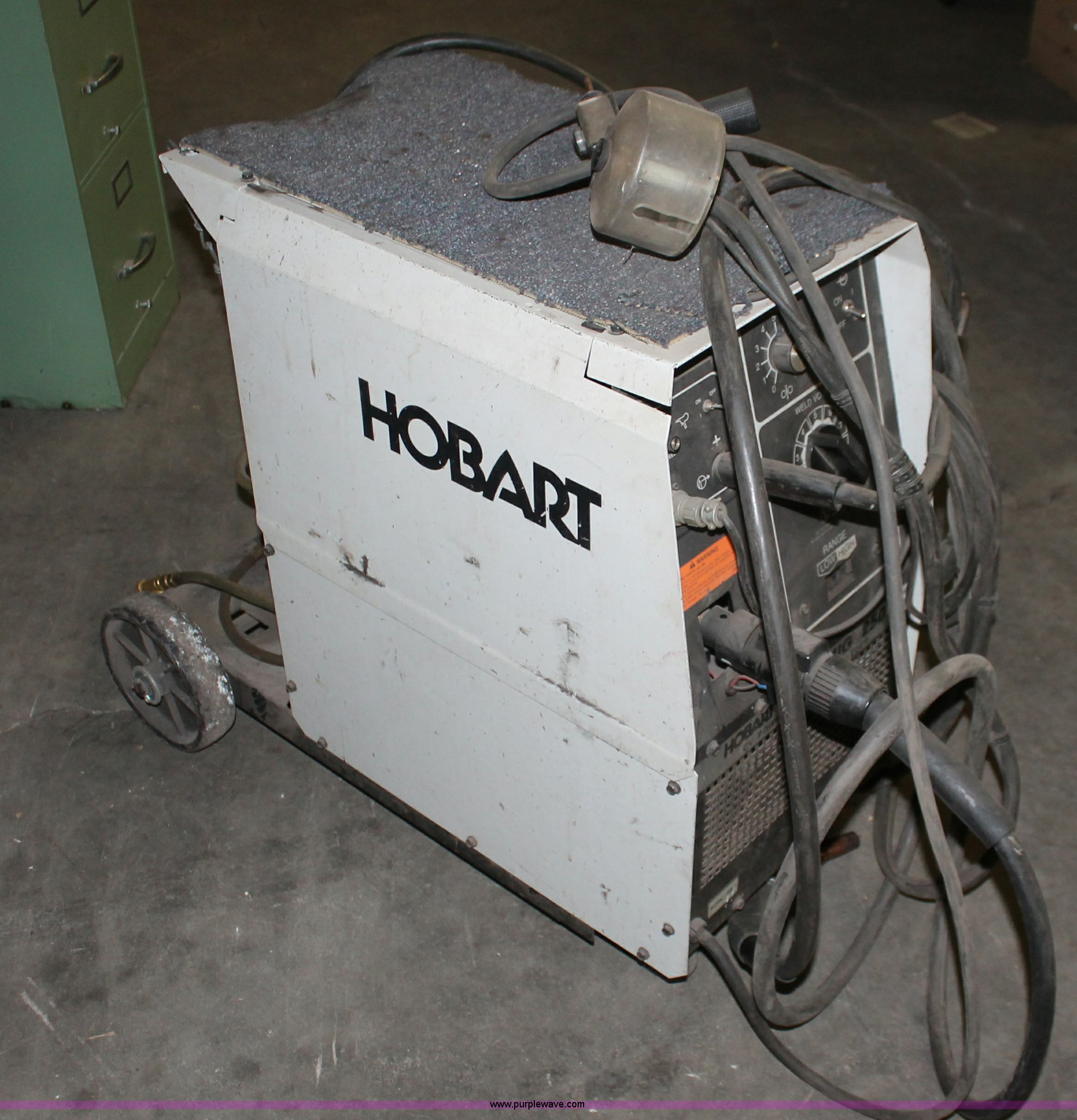 Hobart Beta Mig 250 Cv Power Source Wire Feed Welder Item Wiring Diagram Full Size In New Window