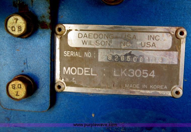 kioti tractor year by serial number