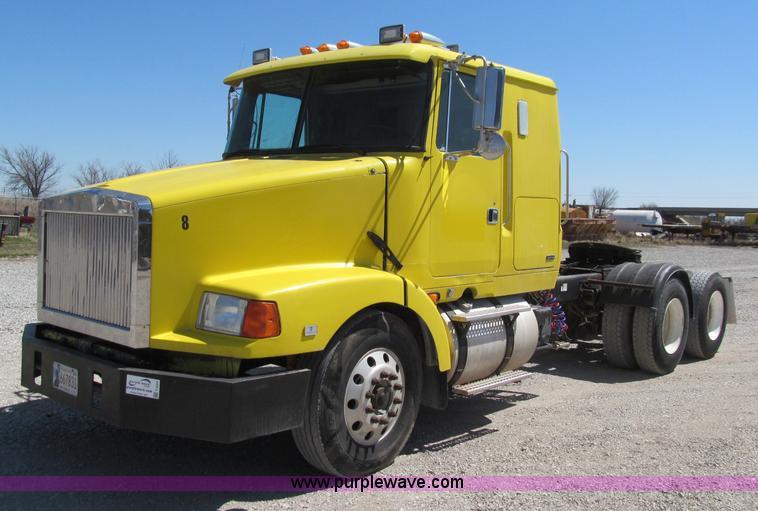 volvo semi truck fuse diagram 1995 volvo wia semi truck | no-reserve auction on tuesday ... #8