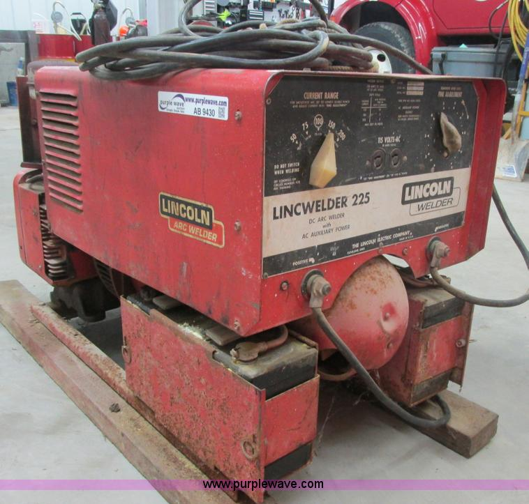 AB9430 lincoln lincwelder 225 welder generator item ab9430 sold lincwelder 225 wiring diagram at reclaimingppi.co