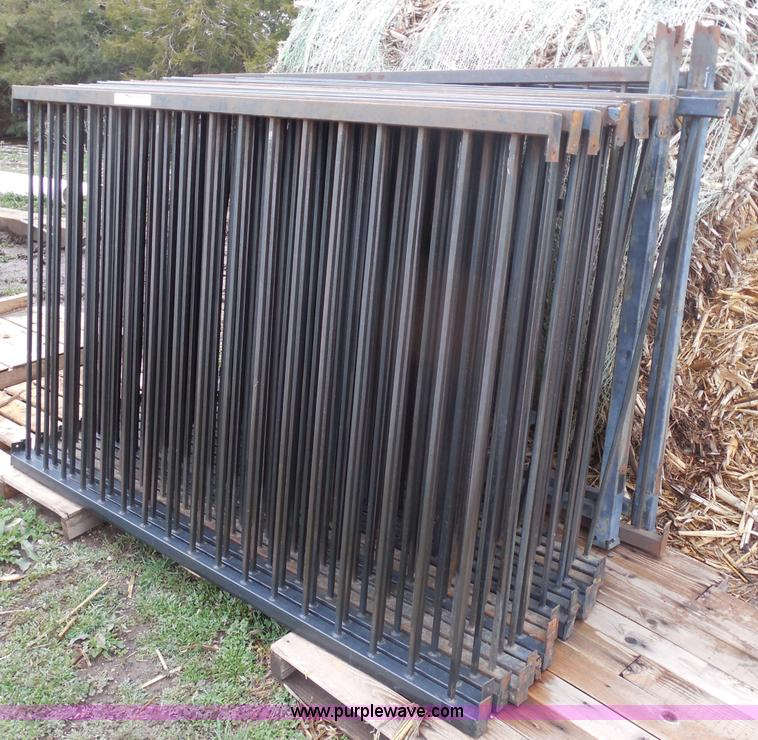 Wrought Iron Fence Panels Item Ag9896 Sold April 17