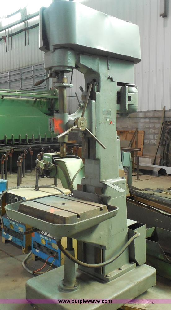 Edlund Industrial Drill Press Item Ag9925 Selling At