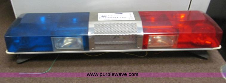 Smithwesson police light bar item e5904 sold april e5904 image for item e5904 smithwesson police light bar aloadofball Images