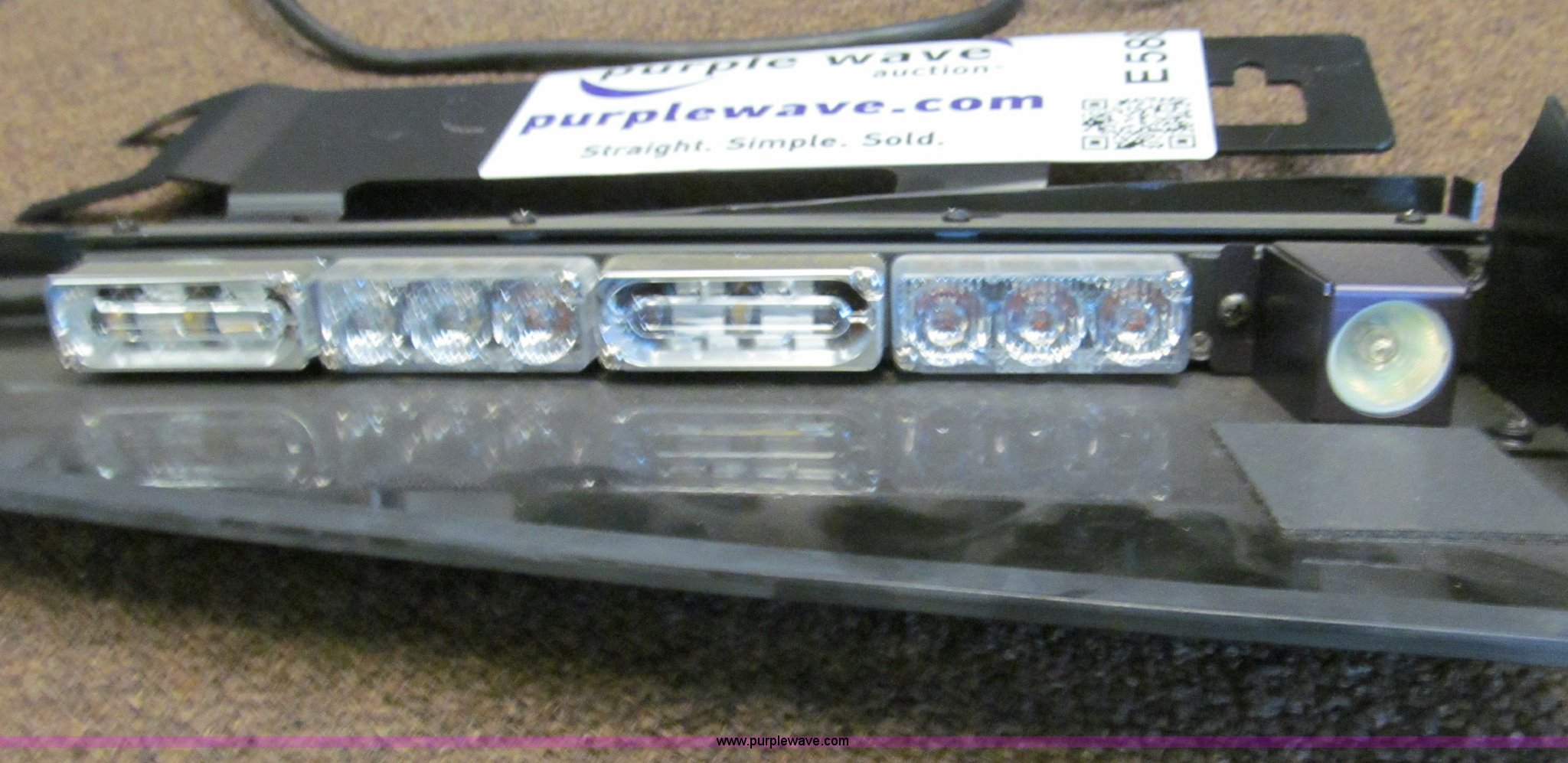 Wiring Whelen Inner Edge Diagram Will Be A Thing Crown Victoria Police Lights Item Rear Used Light Bar