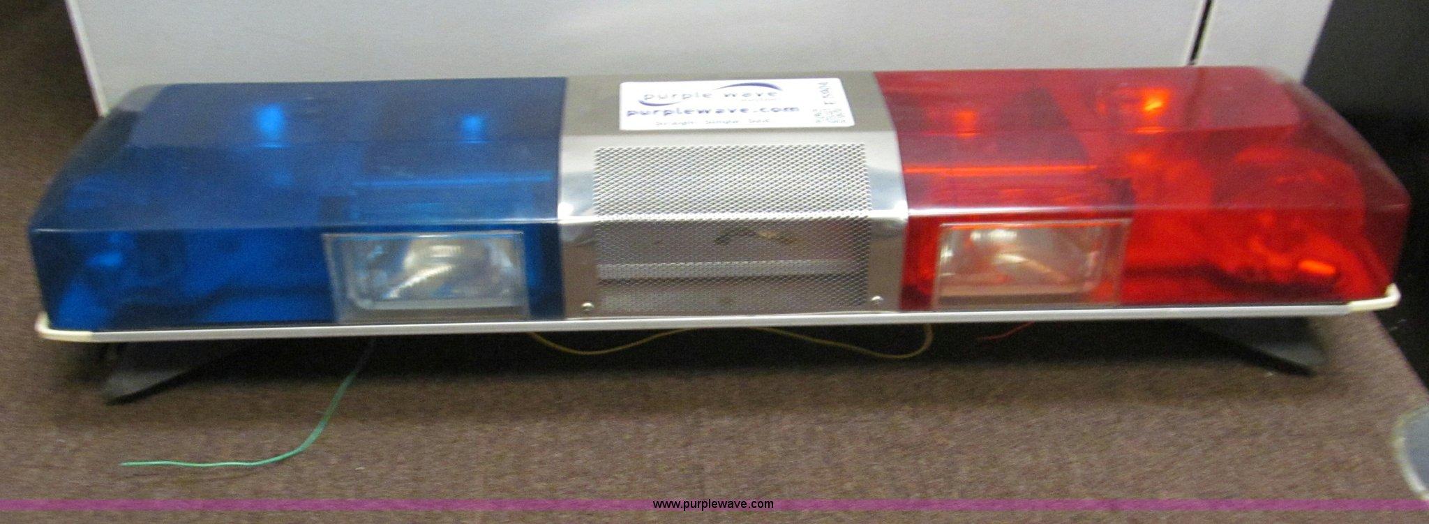 Smithwesson police light bar item e5904 sold april e5904 image for item e5904 smithwesson police light bar aloadofball Images