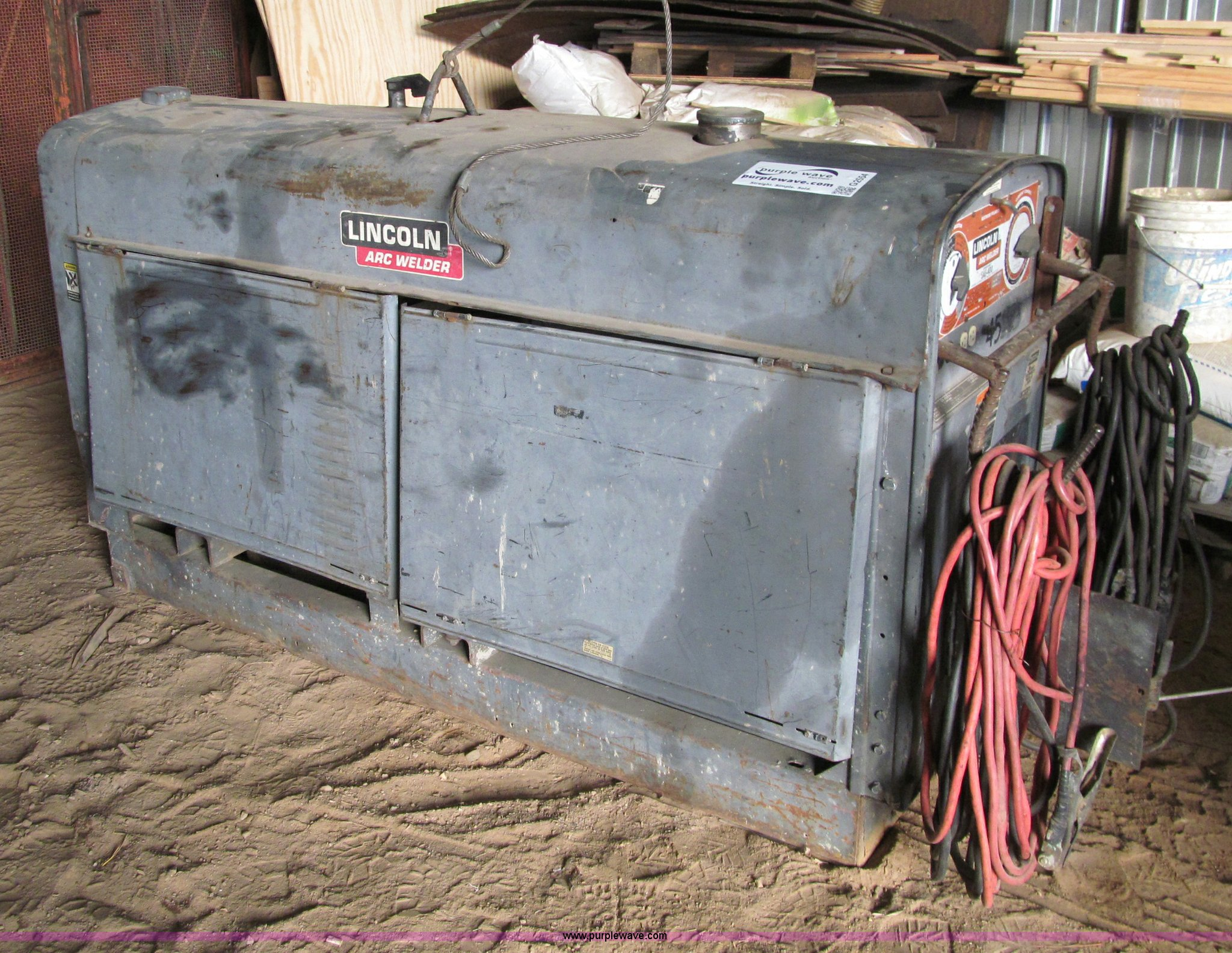 lincoln sae 400 arc welder item g2554 sold april 17 ruz rh purplewave com  Lincoln SAE 400 Parts lincoln sae 400 welder wiring diagram