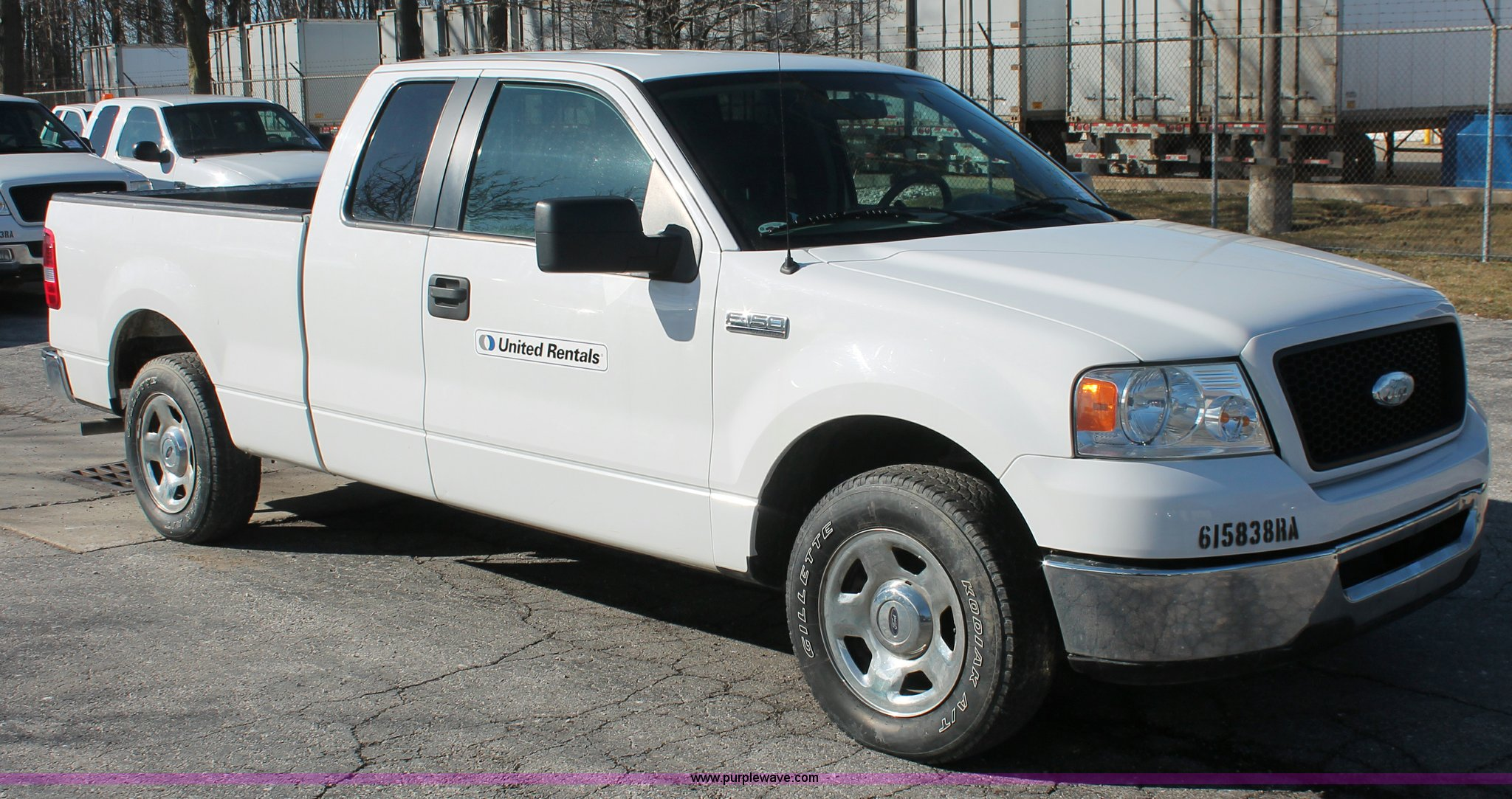 2006 Ford F150 XLT SuperCab pickup truck Item E3275