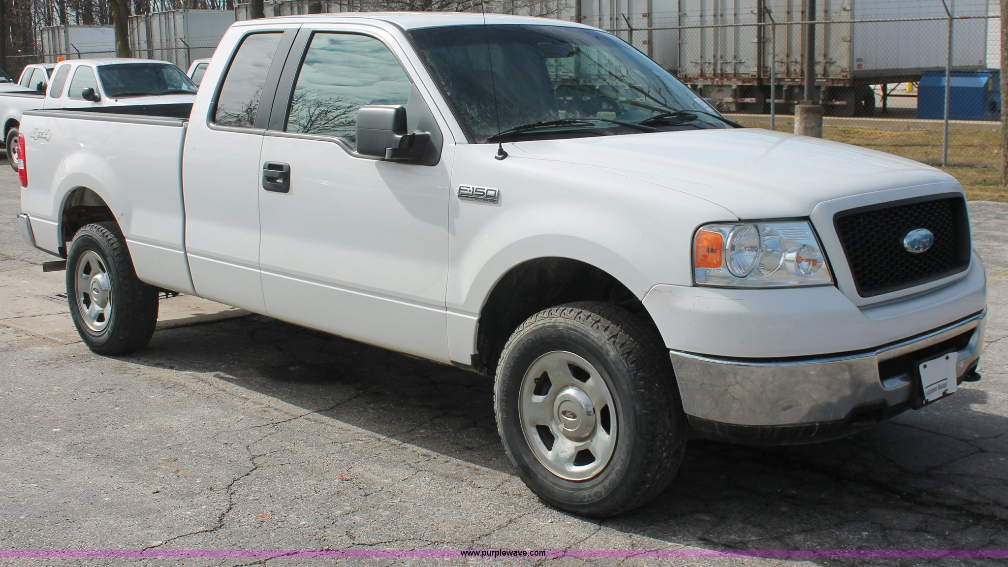 2006 Ford F150 XLT SuperCab pickup truck Item E3286