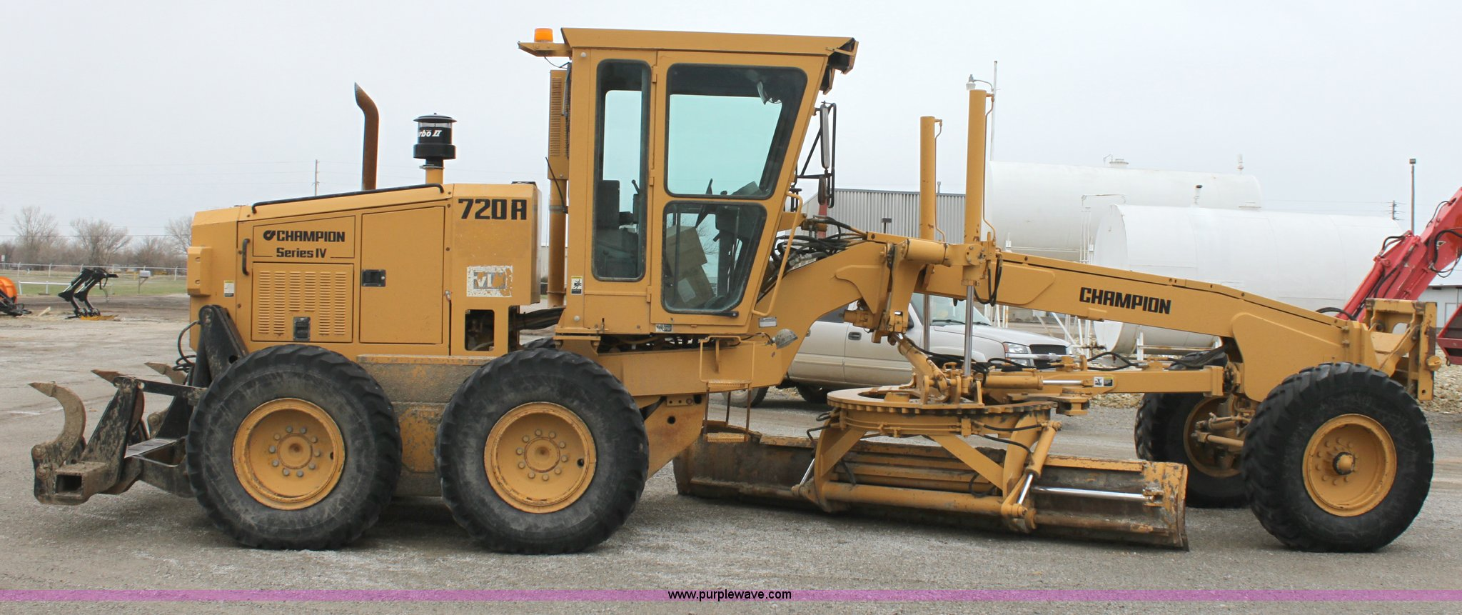 ... Champion 720A Series IV articulated motor grader Full size in new  window ...