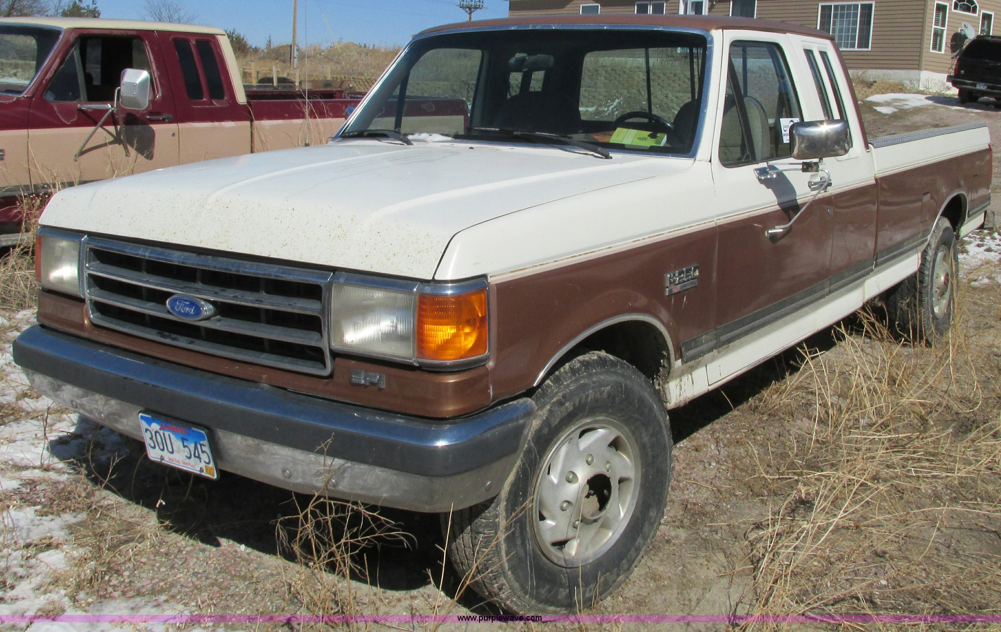 1990 Ford F250 Xlt Lariat Supercab Pickup Truck Item E5025 F 250 Transmission Wiring Image For