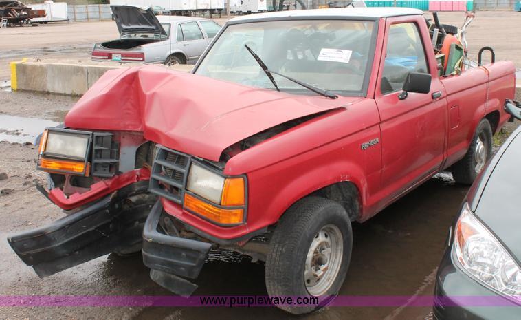 1990 ford ranger pickup truck item e3401 sold april. Black Bedroom Furniture Sets. Home Design Ideas