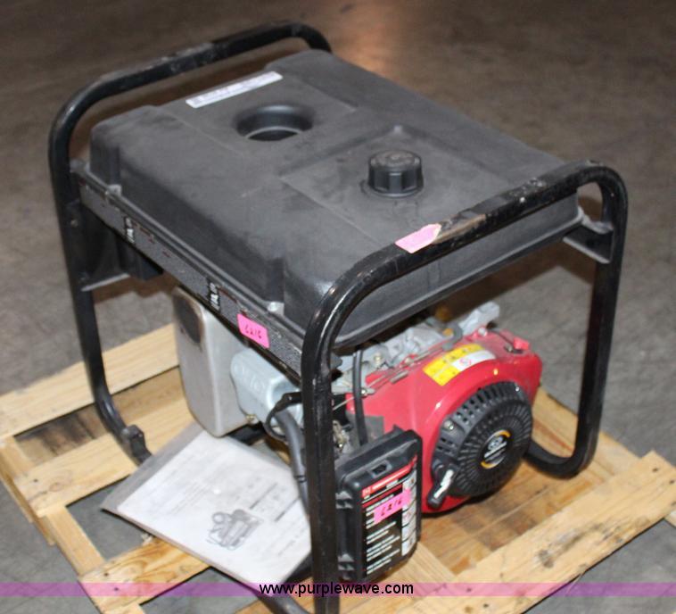Black Max 6560 Generator Item Aj9738 Sold April 30 Tap