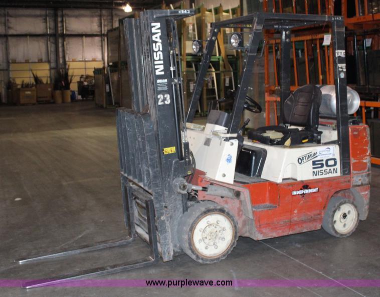 G5376 Image For Item Nissan 50 Forklift