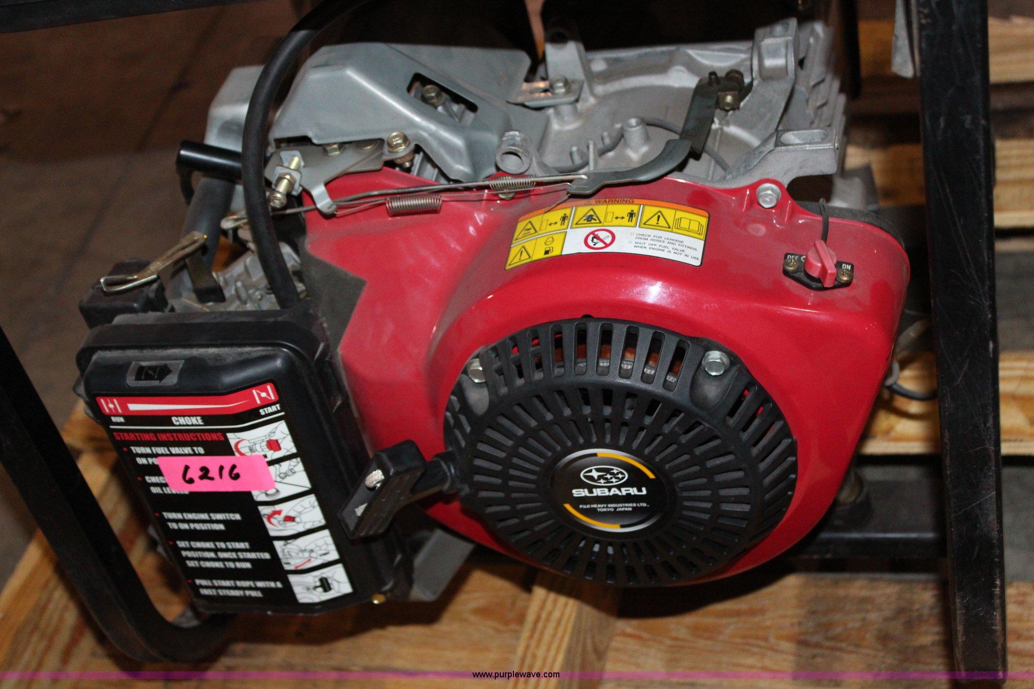 Black Max 6560 Generator Item Aj9738 4 30 2013