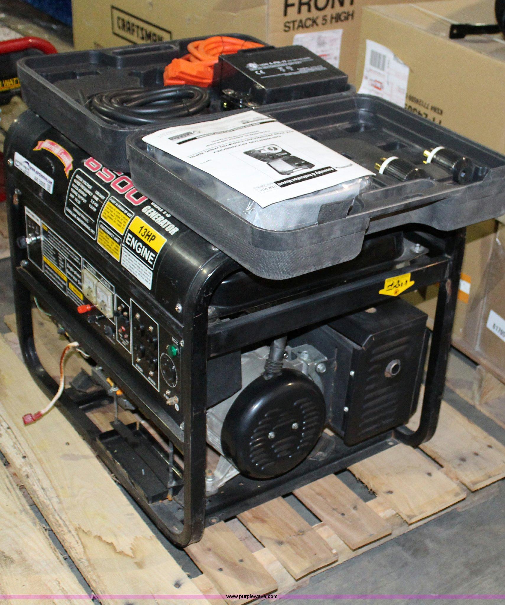 ... American Camper 6,500 watt generator Full size in new window ...