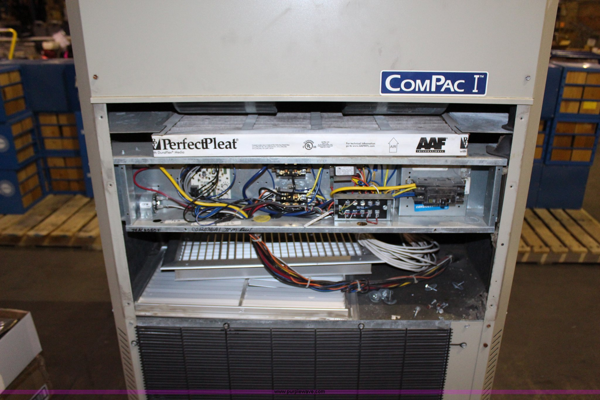Marvair Compac I Air Conditioner And Heater Item Ak9403 Conditioners Wiring Diagrams Full Size In New Window