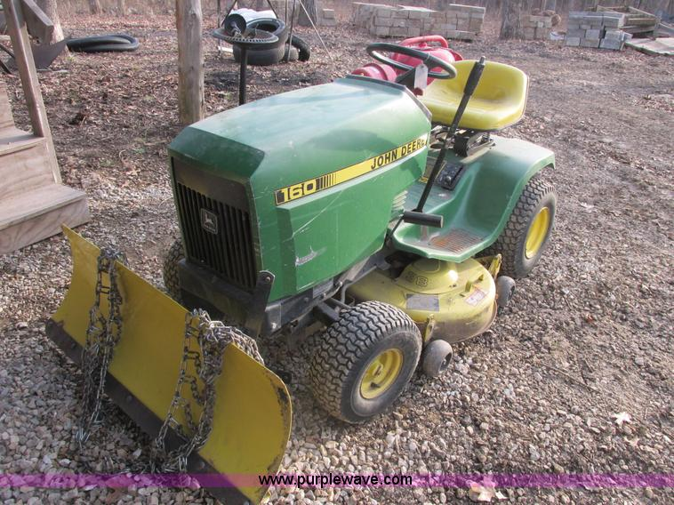 John Deere 160 Mower Item Ab9416 Sold May 1 Midwest Auc. Ab9416 For Item John Deere 160 Mower. John Deere. John Deere 160 Lawn Tractor Parts Diagram Rear Axile At Scoala.co