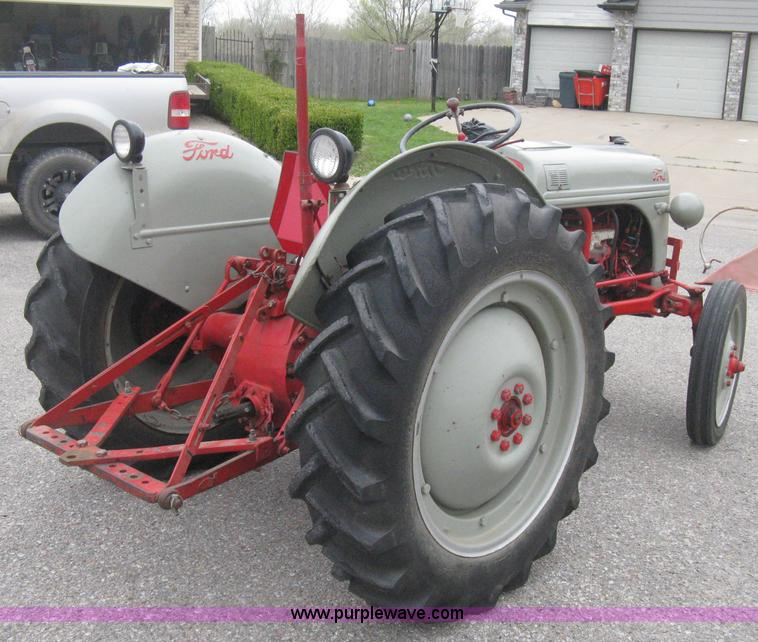 Ford 8n Tractor Front Tires : Ford n tractor item e sold may midwest