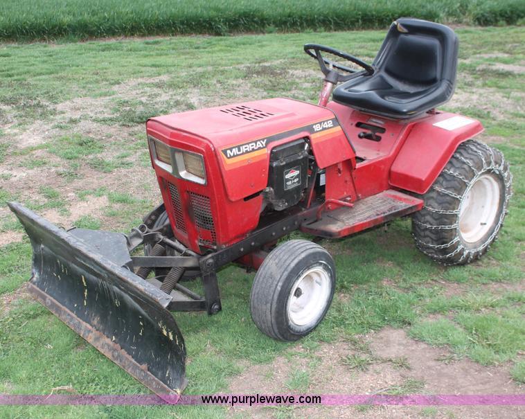 Murray 18/42 lawn mower | Item H3735 | 5-1-2013