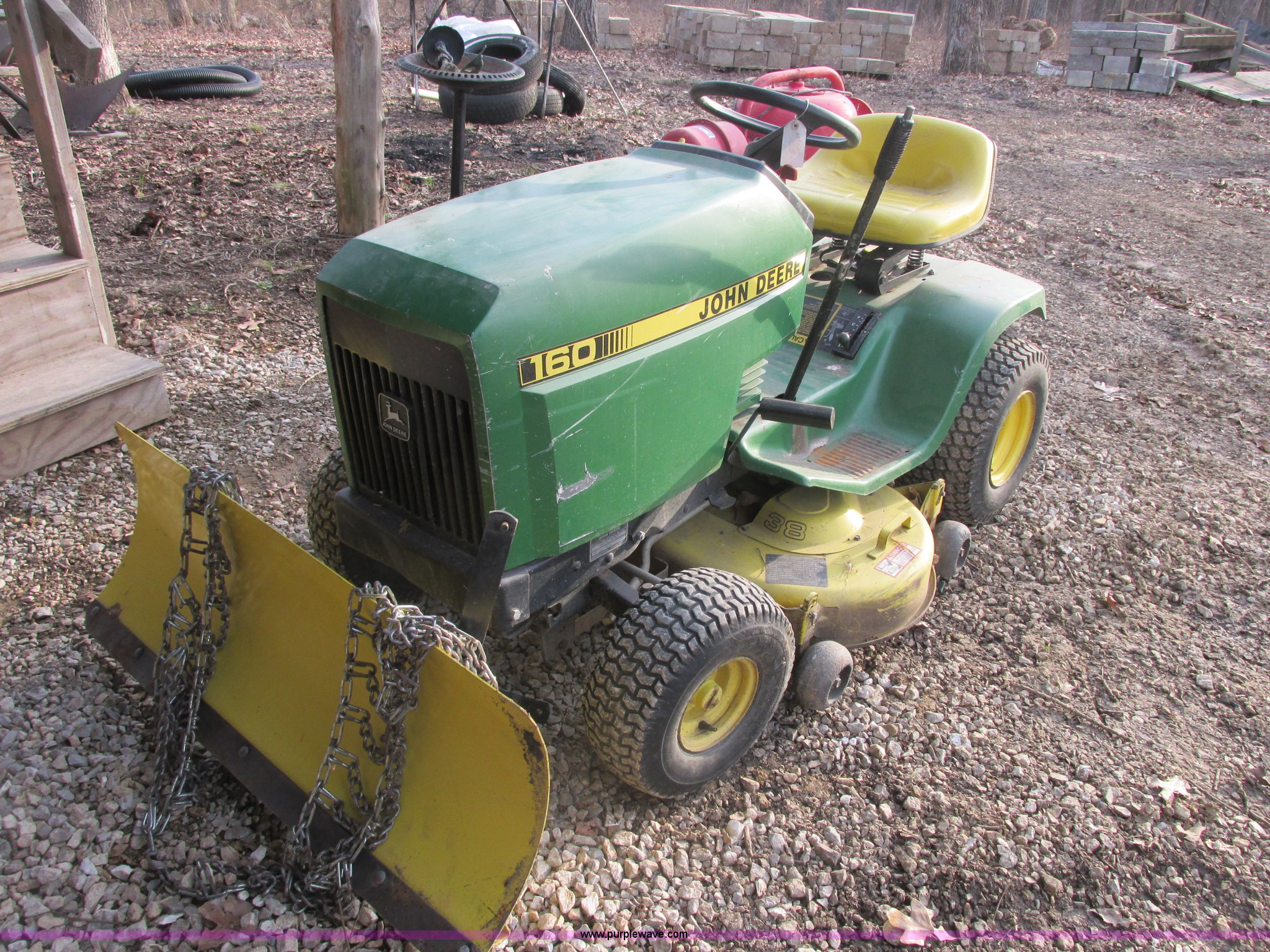 John Deere 160 mower | Item AB9416 | SOLD! May 1 Midwest Auc